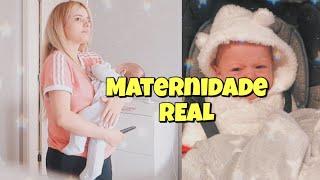 UM DIA COMO MÃE SOLTEIRA na ROTINA com o BABY !