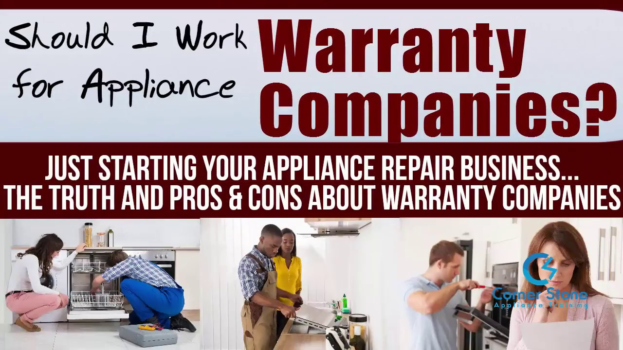 Home Repair Companies Appliance Repair Training Home Warranty Company Appliance Jobs Pros And Cons