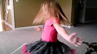 3 year old lip syncs to Carrie Underwoods Blown Away