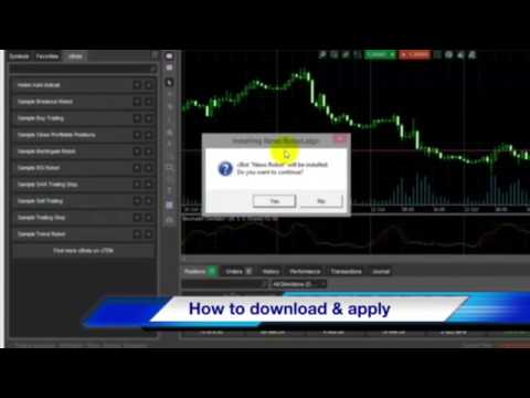 How to build Robot Trading in 5 Minutes