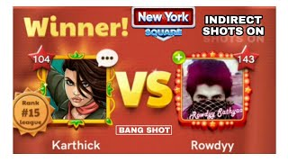 Indirct Shots in Carrom Pool - Sathya Vs Karthick - Carrom Gaming - Miniclip