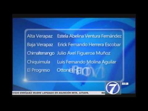 Guatemala ya tiene los nombres de los 22 nuevos Gobernadores