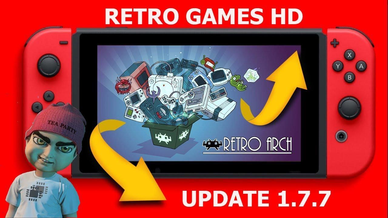 Novo Retroarch 1 7 7 Testamos Varios Games Em hd No Nintendo Switch