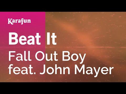 Karaoke Beat It - Fall Out Boy *