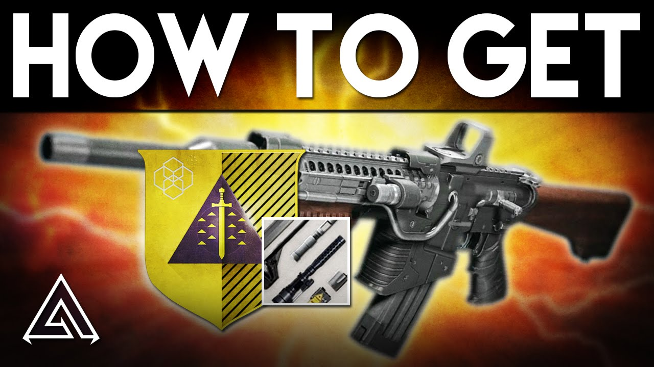 Destiny rise of iron how to get the exotic khvostov 7g ox youtube