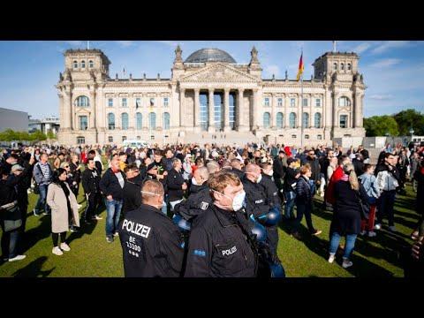 Proteste gegen Corona-Politik in Berlin