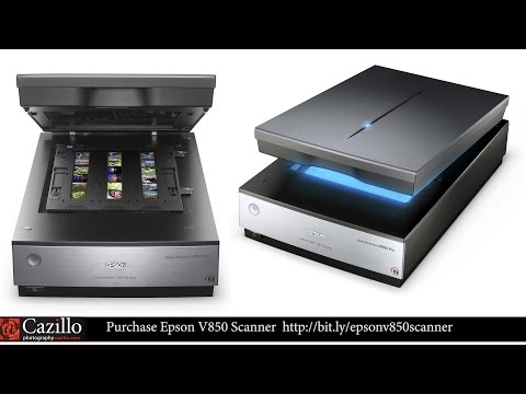 Epson V850 Pro Scanner Review