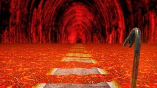 run from the lava