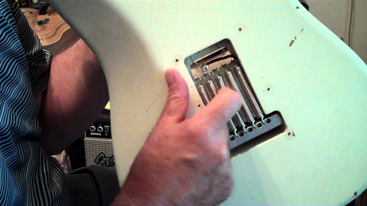 Strat Tremolo Springs Make a Difference in Guitar Tone