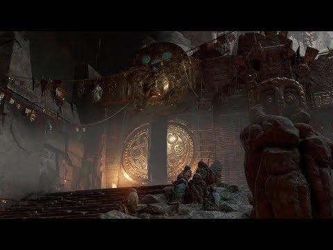 Прохождение Shadow of the Tomb Raider - Открыть большие врата в горном храме #17