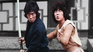 Ниндзя Чёрная Тень и Санг Цзин против неуязвимого | Black Shadow and Sun Jing vs the invulnerable