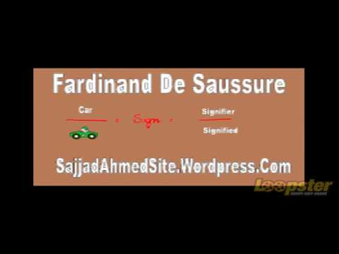 Fardinand De Saussure Sign Signifier and Sign in Urdu