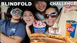 GUESSING  THE FAST FOOD RESTAURANT BLINDFOLD CHALLENGE!!PART#2