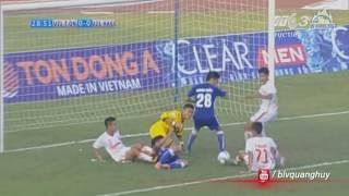 highlights   than quang ninh vs hoang anh gia lai - u21 bao thanh nien 2016