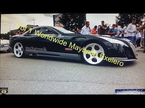 1 of 1 worldwide maybach exelero 8 mio car meets