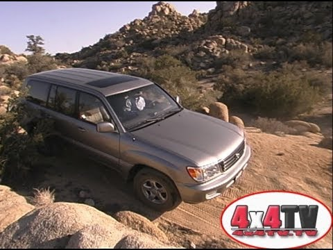 4x4TV Test - 2002 Toyota Land Cruiser