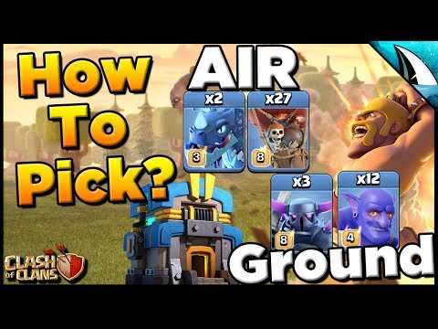Breakdown Air Vs Ground Attacks - How To Pick? | Clash Of Clans