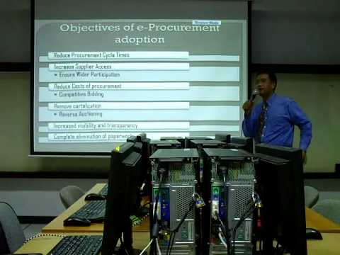 What is e-procurement? - An e-business lecture session (Engl
