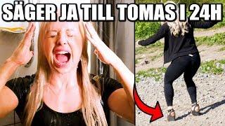 SÄGER JA TILL TOMAS i 24H