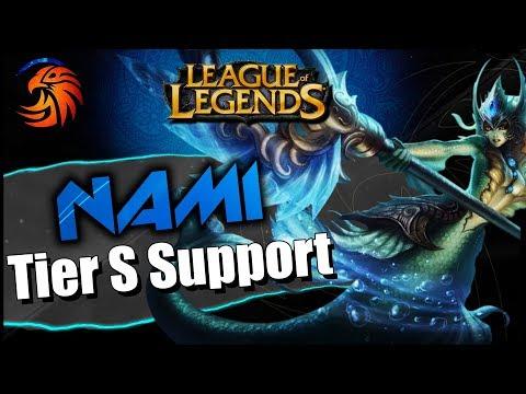 LoL Jugando NAMI Tier S Support | League Of Legends | DayMelto Gameplay Español