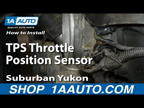 How to Replace Throttle Position Sensor 00-03 Chevy Suburban