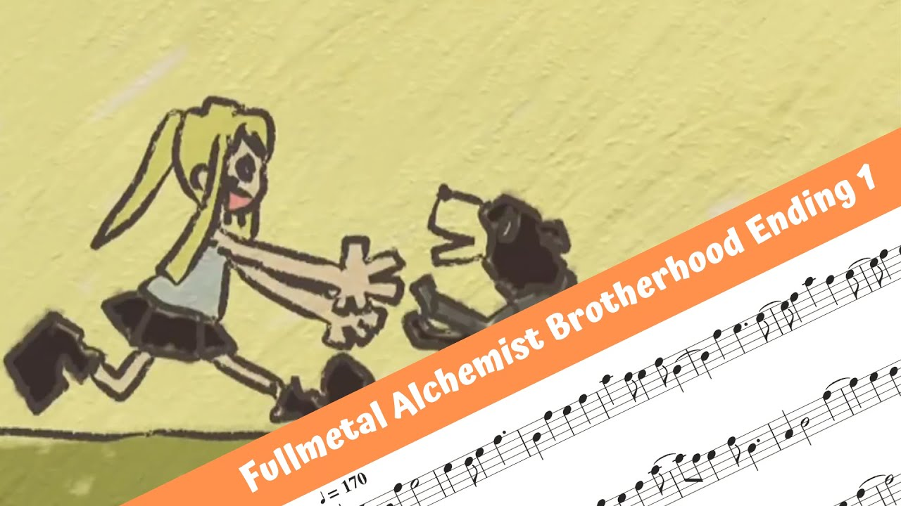 Fullmetal Alchemist Brotherhood Ending 1 (Flute) - YouTube