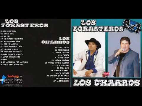 Los Forasteros  Los Charros   Compilado 28 Temas cumbias del recuerdo1