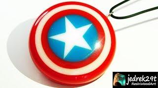 Captain America Shield  from Resin / RESIN ART