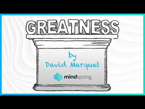 "Inno-Versity Presents: ""Greatness"" by David Marquet"