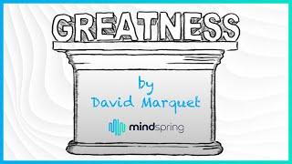 "Inno Versity Presents: ""greatness"" By David Marquet"