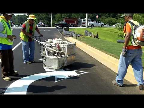 Ennis Flint Car Park Paint