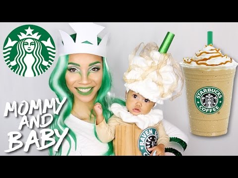 Diy Starbucks Costume Baby Frappuccino Mommy Mermaid Logo