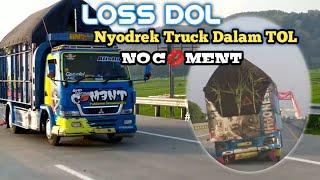 Download DJ AMUNG ROSO KANGEN    Nyodrek Truck Dalam TOL #djtiktok #tol #tolkendal #amungrosokangen #viral