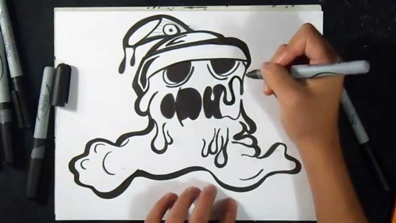 Cmo dibujar Lata de Spray Lata derretida ZXx Graffiti  YouTube