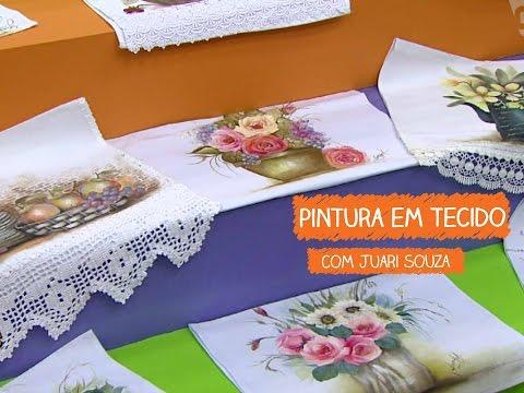 Pintura Em Tecido Com Juari Souza Juari Souza  Vitrine