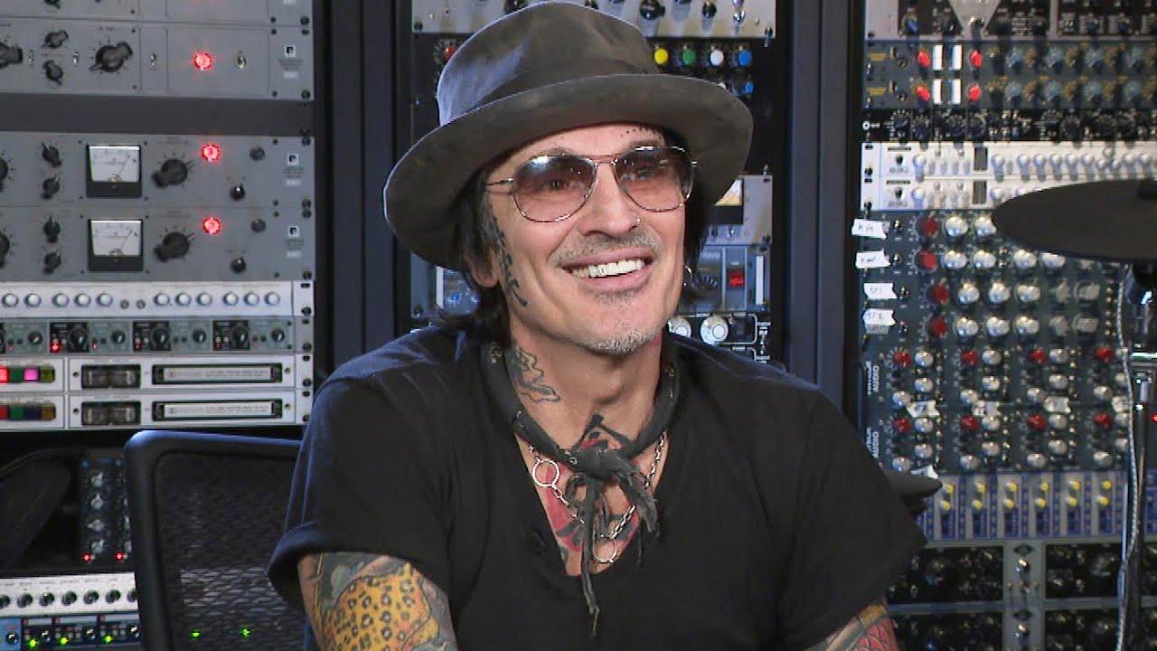 Mötley Crüe's Tommy Lee Shows Off His Calabasas Home Recording Studio (Exclusive)