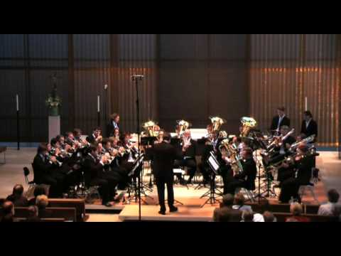 Brass Band München - Abide with me - Geoff Richards