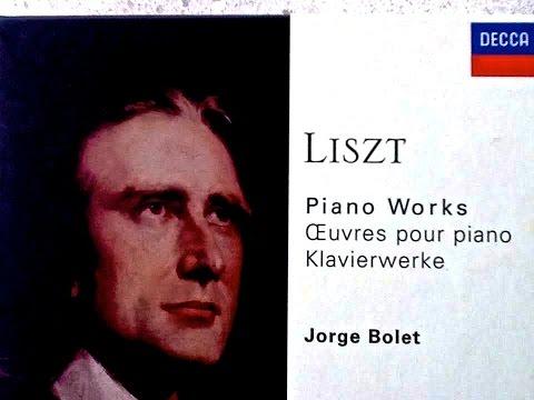 Liszt  Liebesträume, Consolations, Etudes reference recording : Jorge Bolet