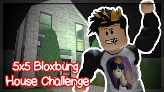 I DID HORRIBLE! ROBLOX BLOXBURG 5x5 10 MINUTE HOUSE CHALLENGE!