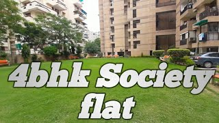 Society flat in dwarka delhi | 4bhk in sector 10 dwarka | Excellent furnished apartment
