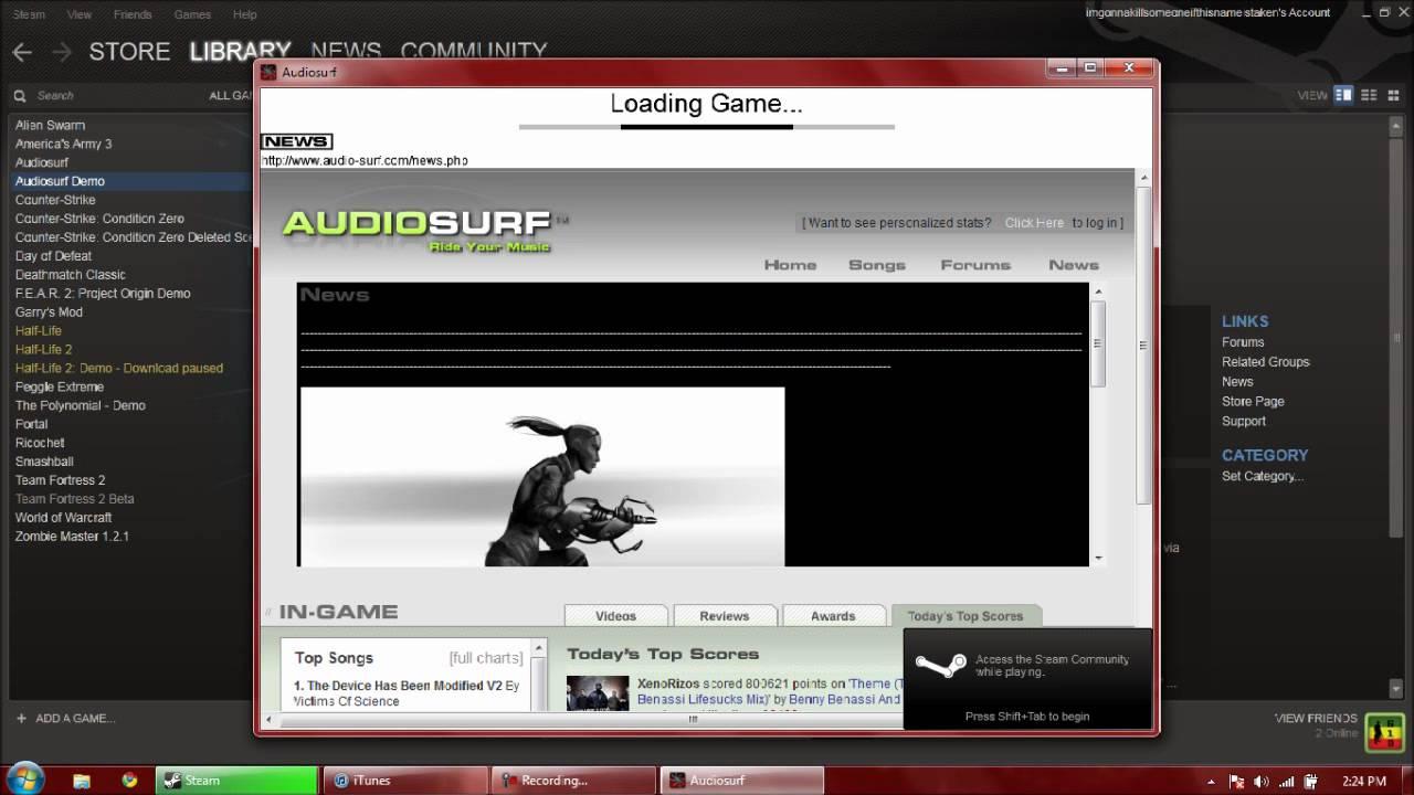 audiosurf free