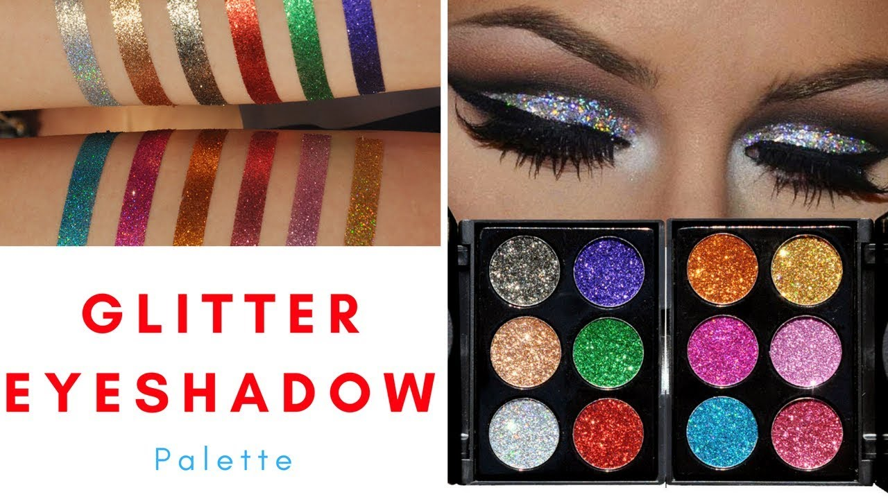 best glitter eyeshadow palette youtube