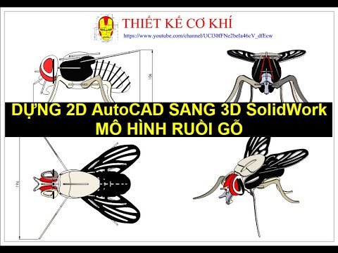 MÔ HÌNH GỖ - 2D AUTOCAD SANG 3D SOLIDWORKS - LỆNH MIRROR TRONG LẮP RÁP  SOLIDWORKS