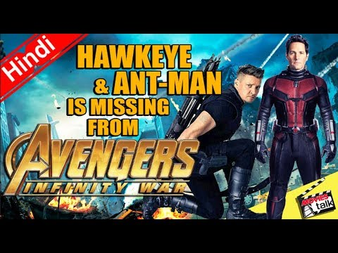 Hawkeye & Antman Is Missing From Infinity War s & Posters? Explained In Hindi