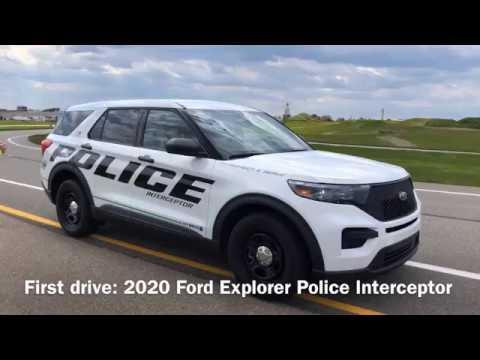 2020 Ford Explorer Police Interceptor: First drive
