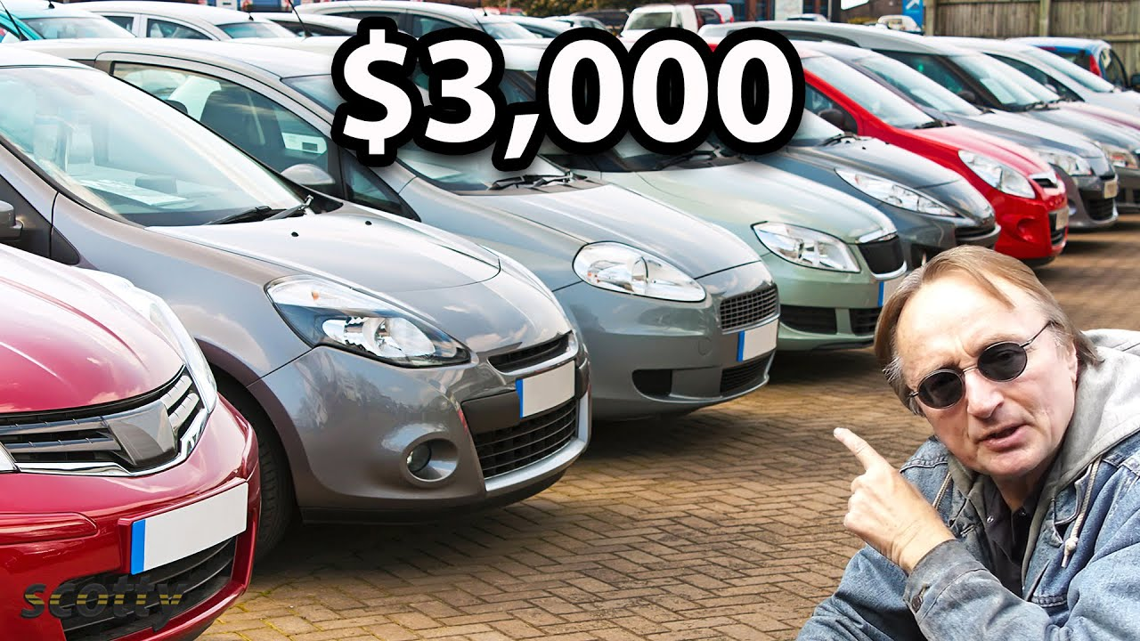If You Have Less Than $3,000, These are the Cheap Cars You Should Buy