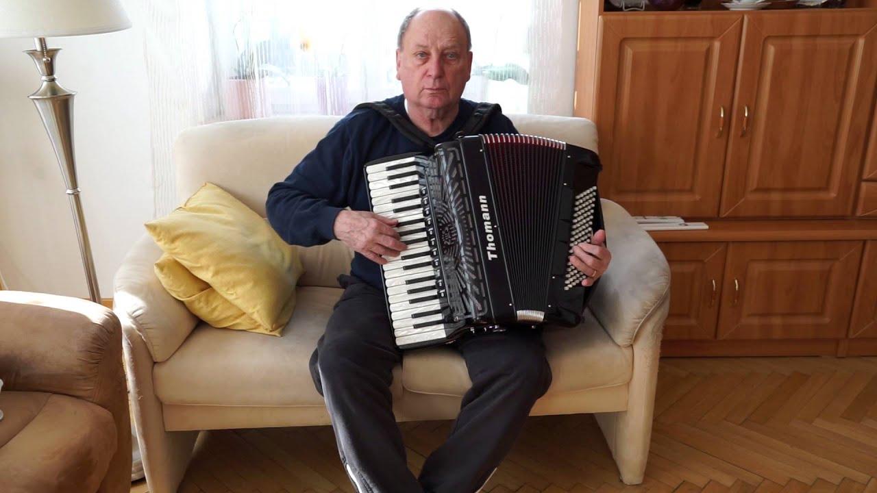 Italienisches akkordeon