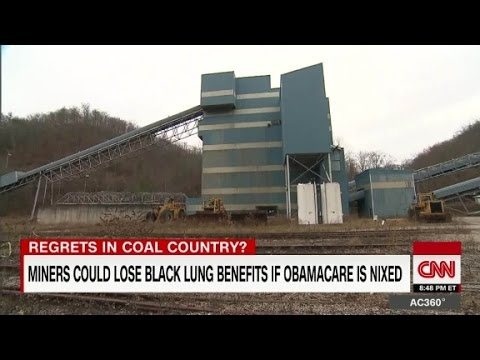 Miners could lose black lung benefits if Obamacare nixed