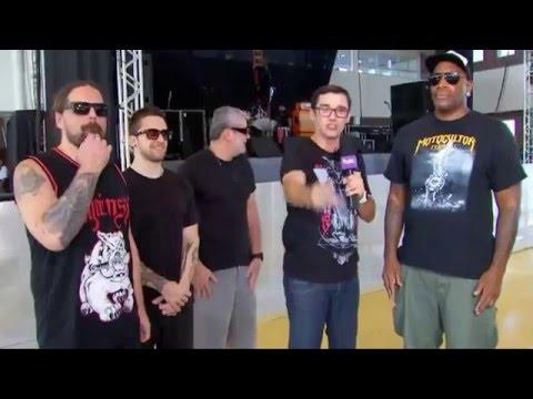 Sepultura - Entrevista em Sorocaba 2016