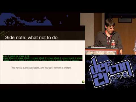 Defcon 21 - GoPro or GTFO: A Tale of Reversing an Embedded System